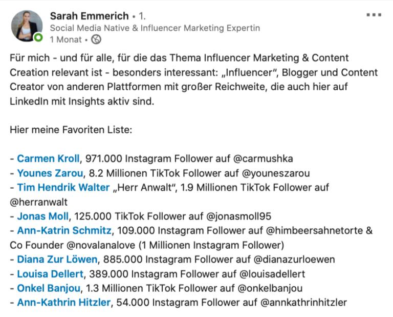 Sarah Emmerich